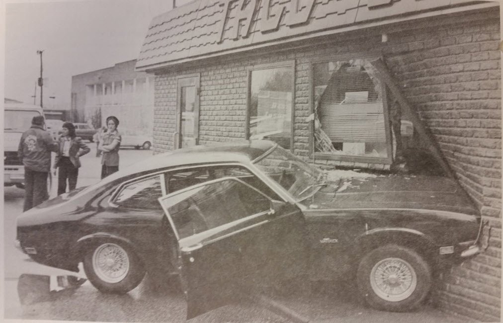 Our first drive-thru... #ThrowbackThursday