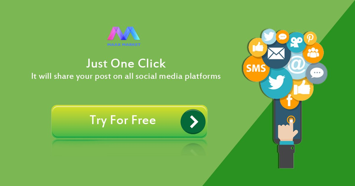 Messaging to #SocialMedia is made simple. One click to post across all #social platform.Signup @MaaxMarket Software   https:// goo.gl/SmHNKv  &nbsp;  <br>http://pic.twitter.com/lh0kvVhgmy