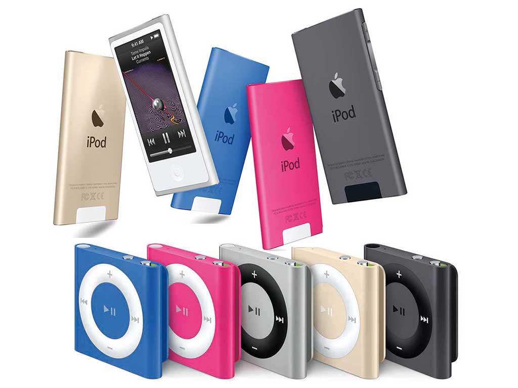 iPod nanoとshuffleが販売終了。製品ページ削除 https://t.co/W3XMO3hHPe