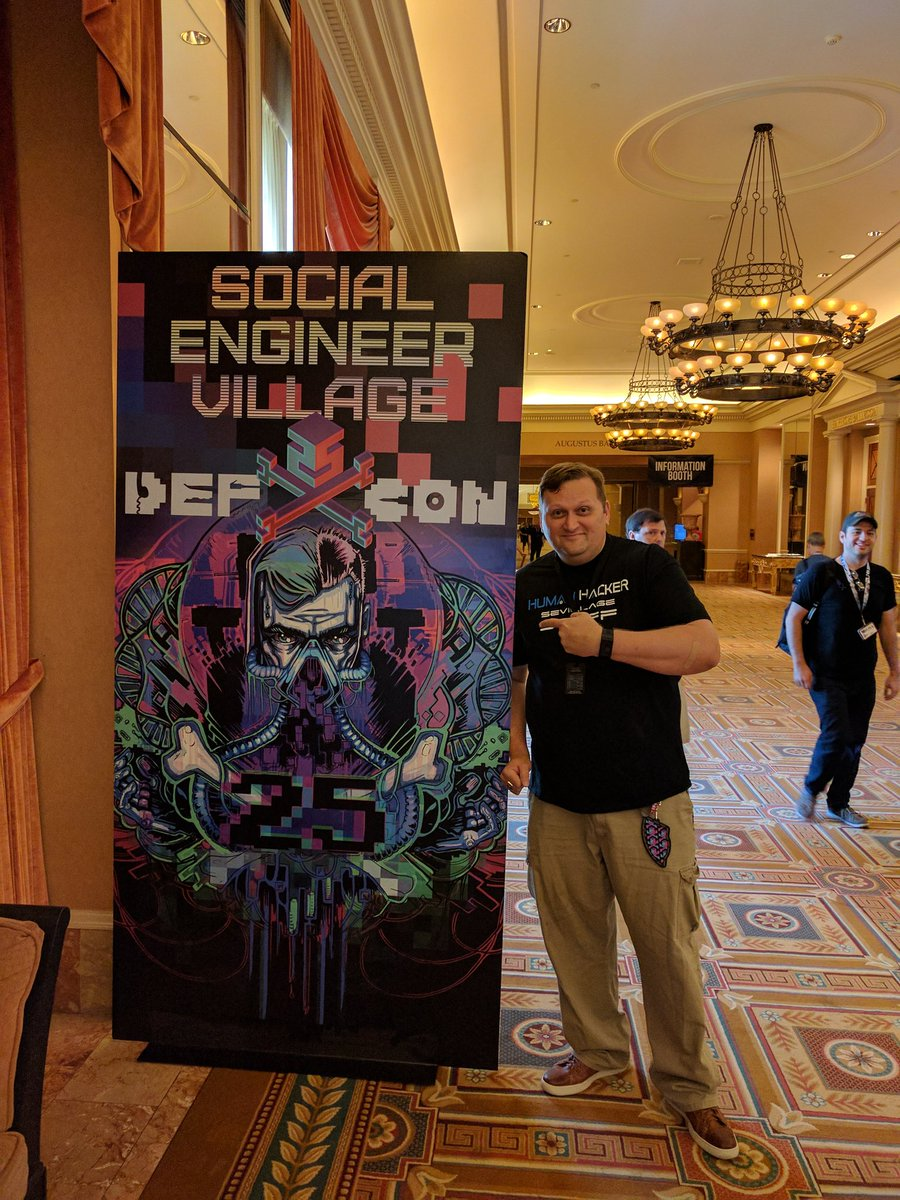 So this is happening... #SEVillage @defcon https://t.co/6X8zRlQ9nH