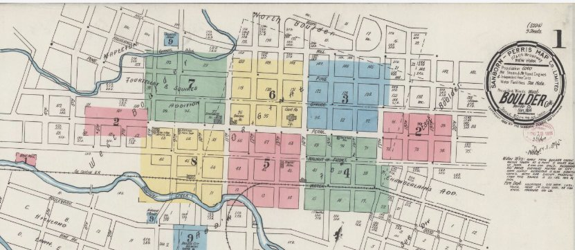 Hello, #Colorado! Check out these historical insurance maps from Boulder & Denver #otd #hbd https://t.co/8PITbfXk5f https://t.co/Xh5pAW65qI