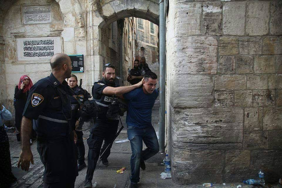 2nd man was arrested at Al-Aqsa mosque