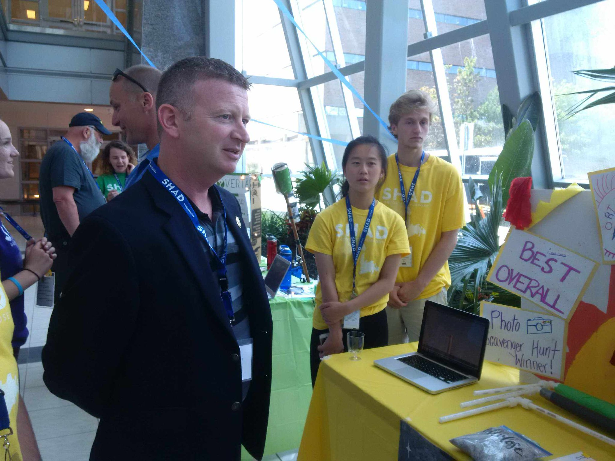 Minister Kirby @dalegkirby participates in Open House @SHAD_MUN #SHADOpen today @MemorialU  #SHAD2017 https://t.co/AMGzZQPsn5