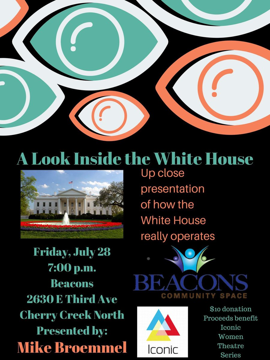 Speaking tomorrow about how #WhiteHouse really works at Beacons in #Denver, #Colorado  #politics #government #POTUS #Trump<br>http://pic.twitter.com/owN03NkmTJ