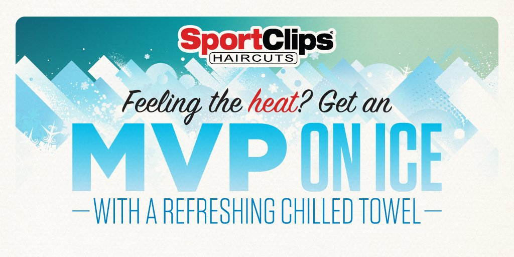 Sport Clips Haircuts On Twitter Chill Out And Cool Down This