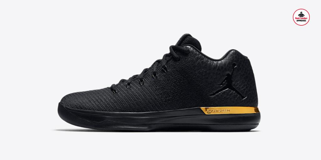 The Black/Gold Air #Jordan XXX1 Low drops online tomorrow at 10am EST. | https://t.co/OWVJJfFQhR