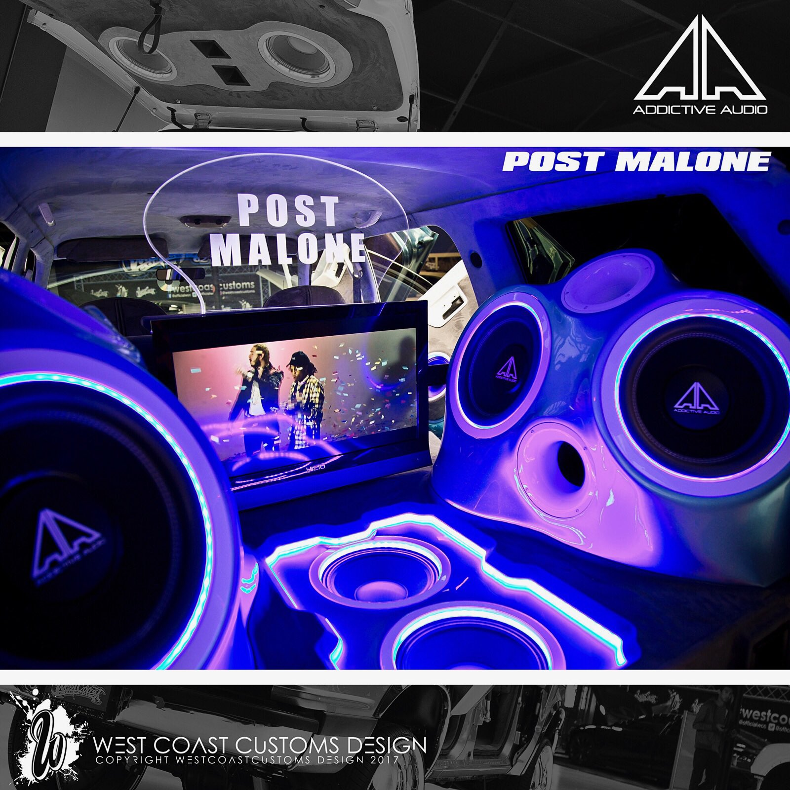 west coast customs on twitter beautiful addictiveaudio custom sound installation for client. Black Bedroom Furniture Sets. Home Design Ideas