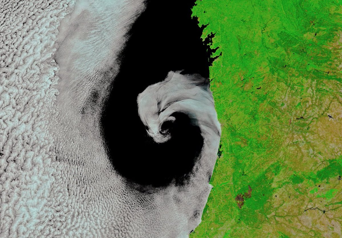 Cyclone 'Licks' Portugal Coast in Gorgeous Space Image https://t.co/LaKV9V1olY