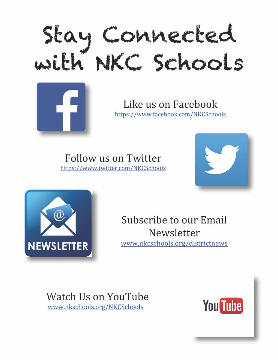 Join us online to stay up-to-date on the latest news and information from NKC Schools! #backtoschool #beintheknow<br>http://pic.twitter.com/xIAtWgvCh5