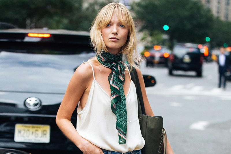 Yes, you can wear a scarf in the summer https://t.co/59hcNkVYCO https://t.co/tgKBJxI021