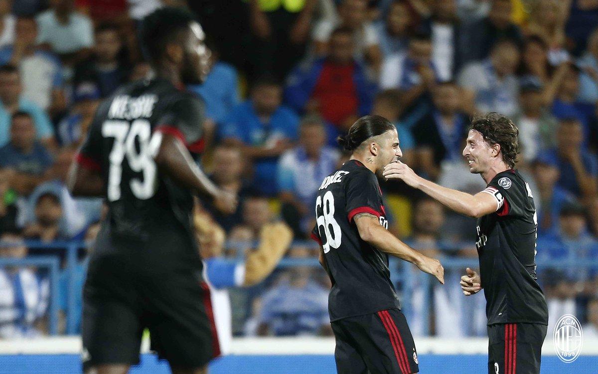 Craiova-MILAN 0-1, il tabellino del match | Europa League
