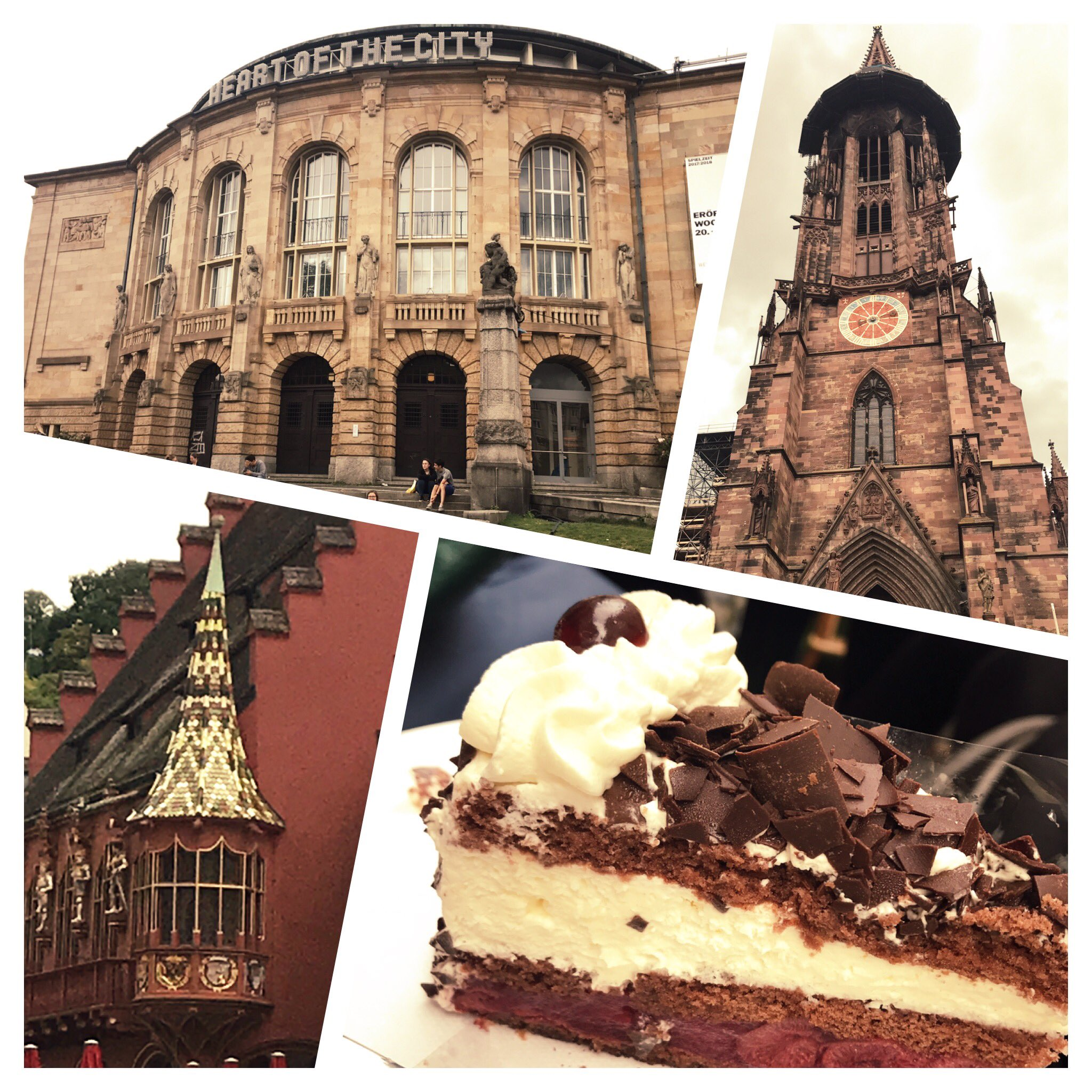 Delicious Black Forest Gateau to refuel after a walking tour of Freiburg. Great way to start #rsvp17 https://t.co/460GDFNjQV