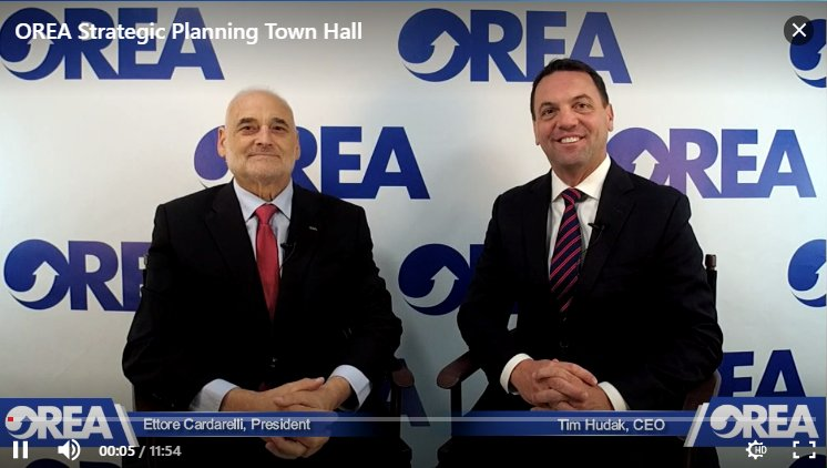 test Twitter Media - Missed the LIVE Town Hall? Watch President Ettore & CEO @timhudak present OREA's new five-year plan here: https://t.co/M3uMHpcOgi https://t.co/eQHtwE2FuH