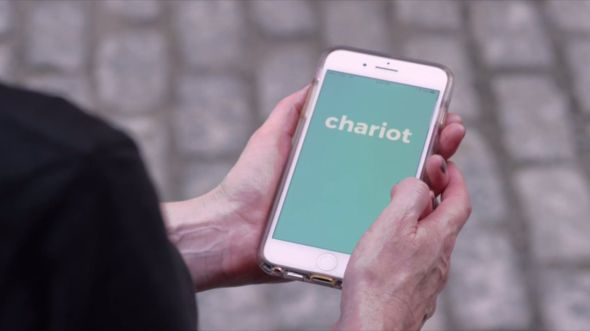 On-demand, app-based shuttle Chariot aiming to alleviate MTA woes @AndrewRamosTV https://t.co/C6Pk7XzdRO