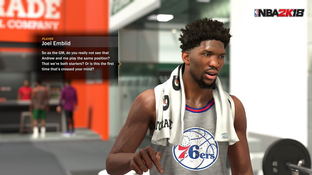 NBA 2K18 will introduce a story-based franchise mode for the first time ever. MORE @ https://t.co/Riyj6FcdKW