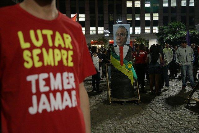 .@frentebrasilpop fará atos nas capitais no dia da votação de denúncia contra Temer. https://t.co/pSh8SySpgN
