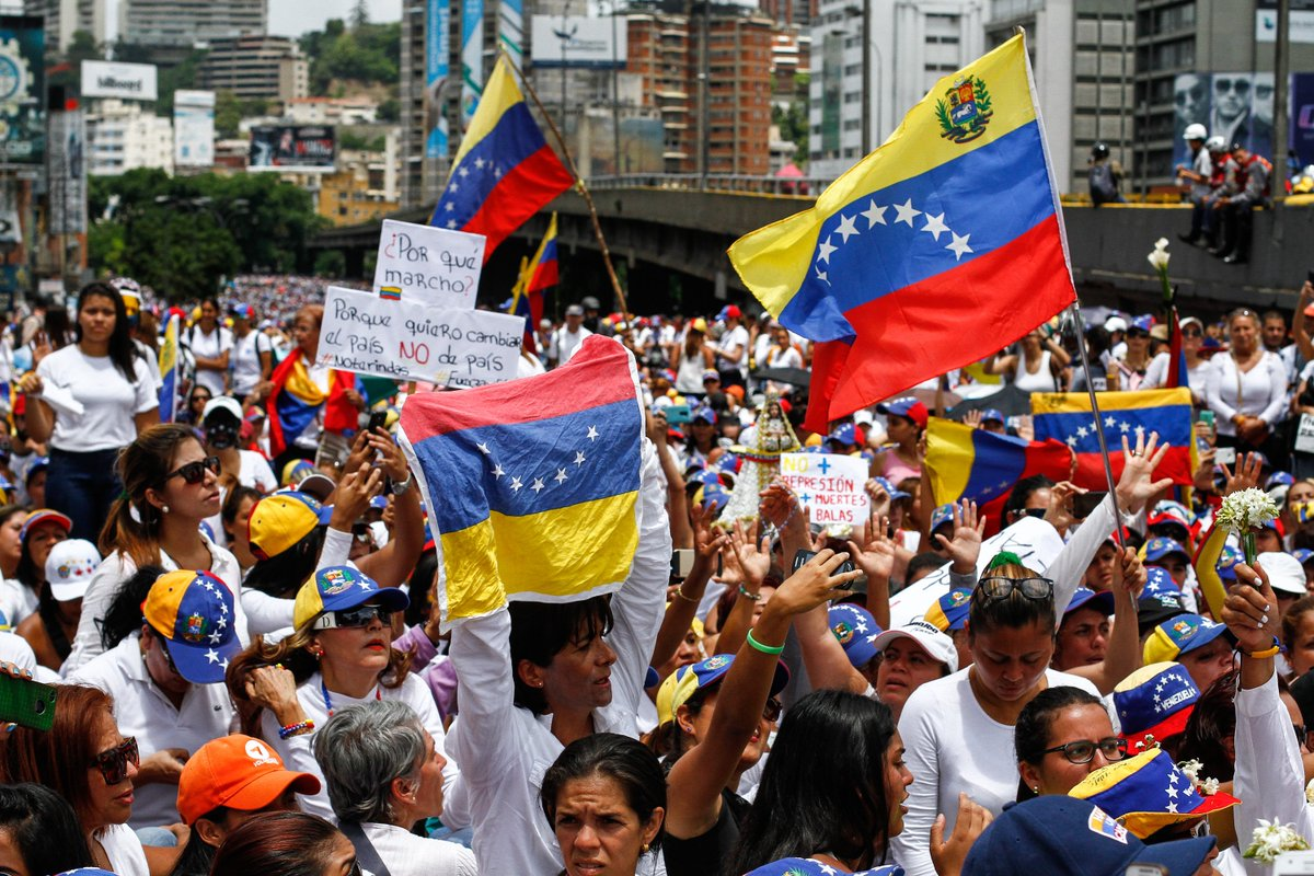 With elections approaching, Venezuelans hope the spiraling political violence will come to an enhttps://t.co/Hsy6HEhVadd