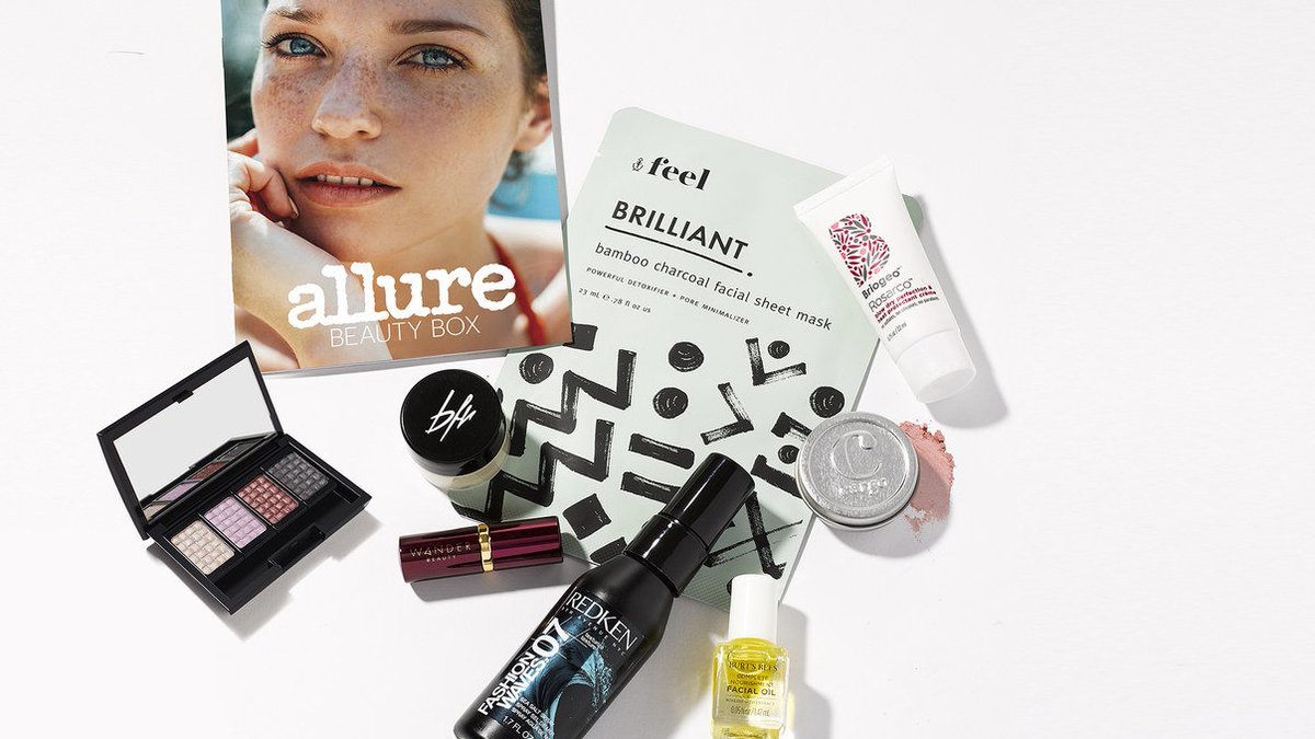 Every beauty lover will be obsessed with the July #allurebeautybox https://t.co/OCYokLcLOA #ad