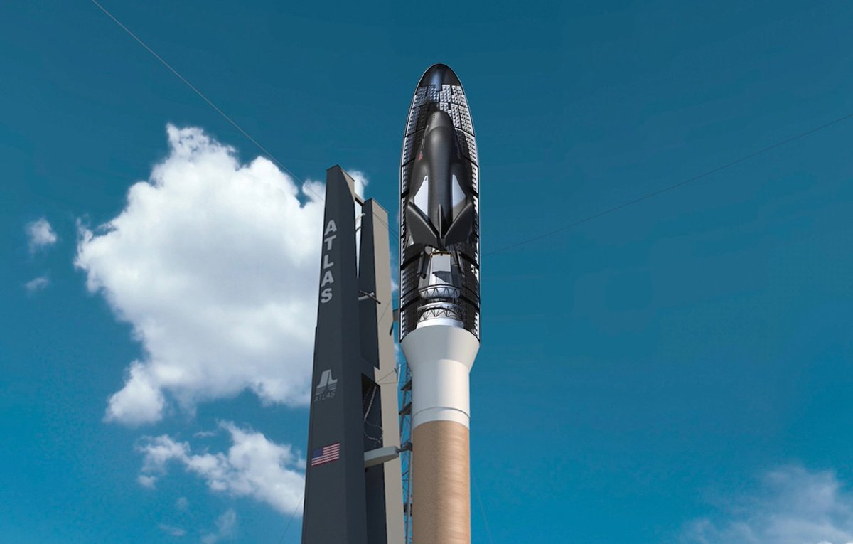 Private #DreamChaser Space Plane Will Launch on Atlas V Rockets @ulalaunch https://t.co/GCx8Y9kEeL