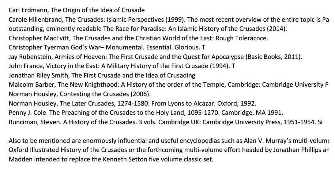 the first crusade and the ideas