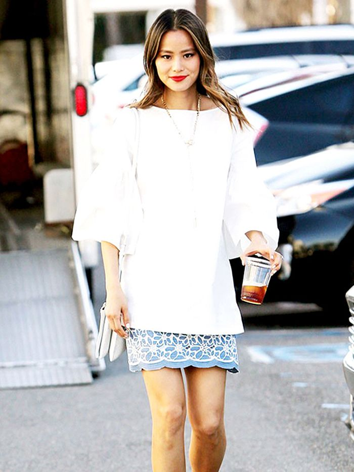 Jamie Chung's most stylish outfits ever https://t.co/hgsW7TCK67 https://t.co/pQBp7r6e7T