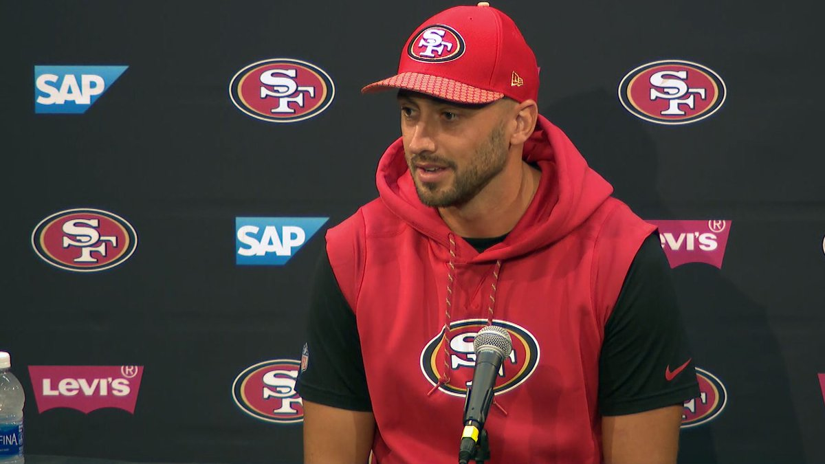 WATCH: #49ers quarterback Brian Hoyer: 'This is my team, this is my offense' https://t.co/teBU5jLU9Z #NFLTrainingCamp #NFL