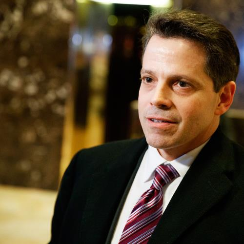 Anthony Scaramucci on Twitter mentions colorful language