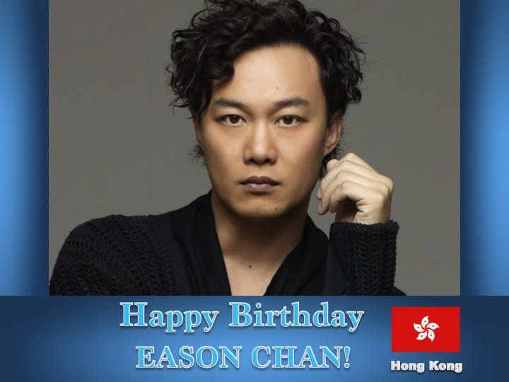 Happy Birthday #EasonChan! 💖🇭🇰🎤🎶🎼🎂🎉🎁🎈✨🌟💫🎇
