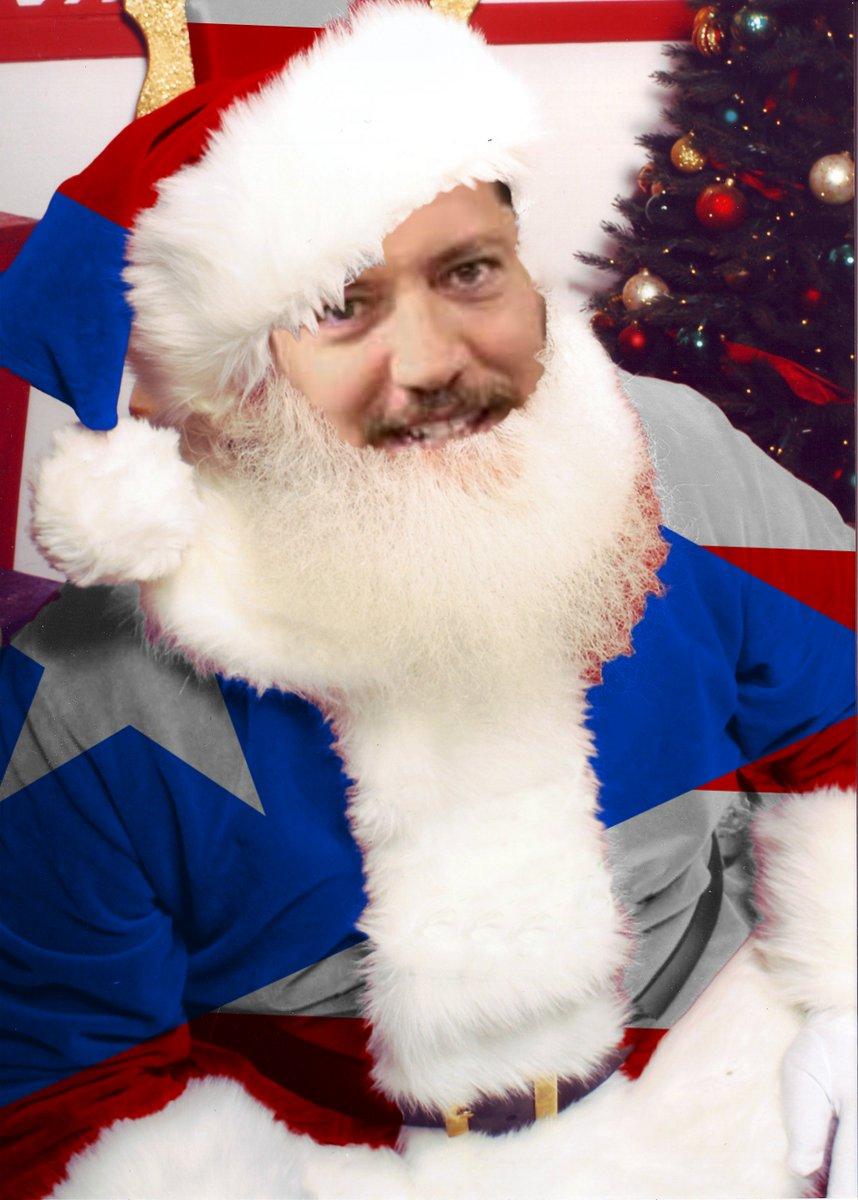 Puerto Rico Santa Claus