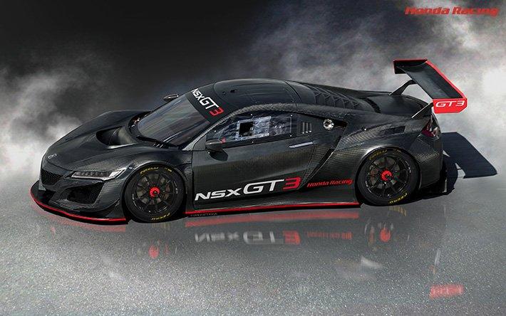 \全世界で開催されているFIA公認GTレースに出場可能に!/【FIA-GT3規則に合致したレース専用車両 「NSX GT3」を発売!】~2018年のレースシーズンに向けて本日より受注開始です^^ https://t.co/bo7qouPHrA