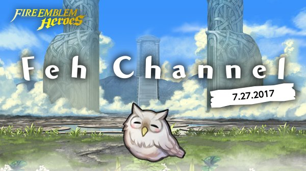 Feh was nervous, but she hopes you enjoyed all the #FEHeroes info! If you missed the broadcast, watch it here: http://bit.ly/2w4UnFd