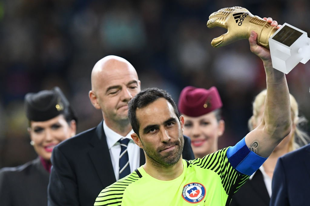 Claudio Bravo on the Confederations Cup: 'I competed for my team-mates & I wanted to reverse the situation of not having had a good year.'
