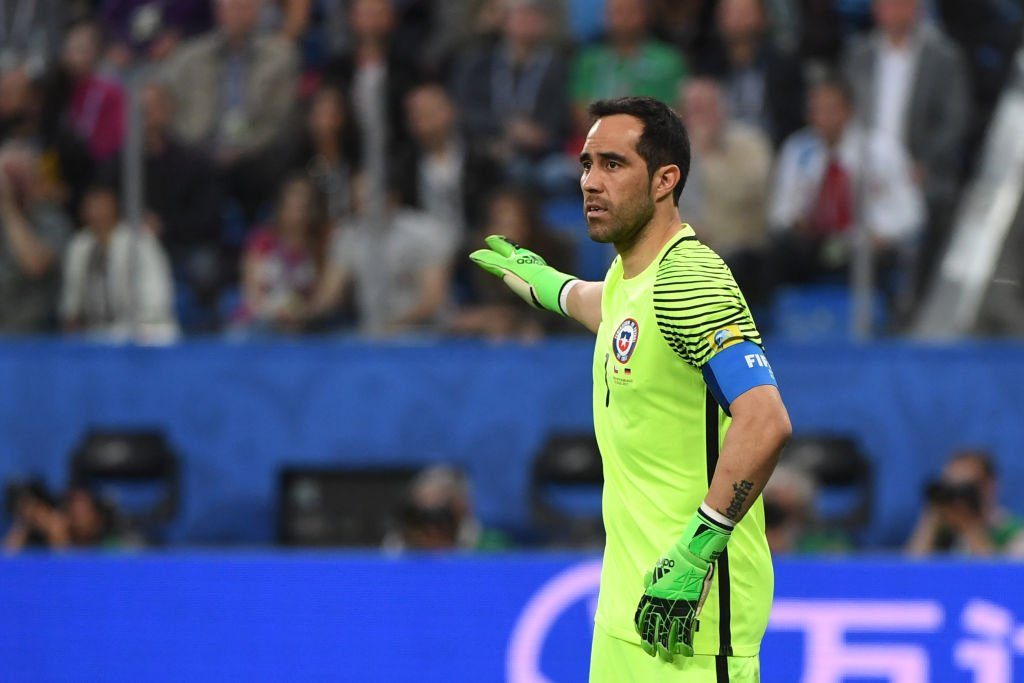 Claudio Bravo on the Confederations Cup: 'I went to Russia almost with the idea of not taking part because I wasn't in good condition.'