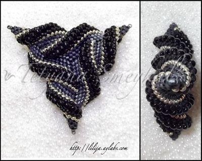 Схема плетения из бисера стрекоза
