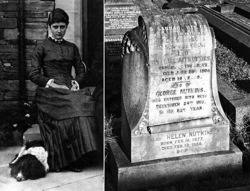Beatrix Potter–born OTD 1866–found many of her characters' names on gravestones in Brompton Cemetery. #Nutkin #PeterRabbett #JeremiahFisher pic.twitter.com/lyTQJmdeLs