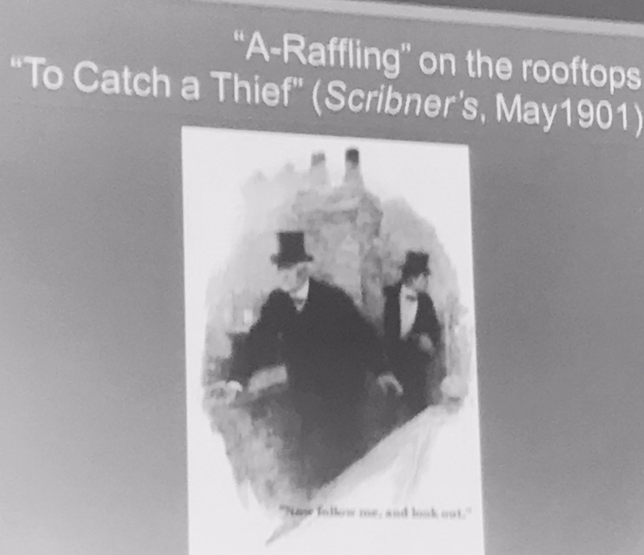 Turner discusses the reinvention of Raffles in Scribner's Magazine - from gentleman thief to wartime hero #rsvp17 https://t.co/ez7vMMMSe1