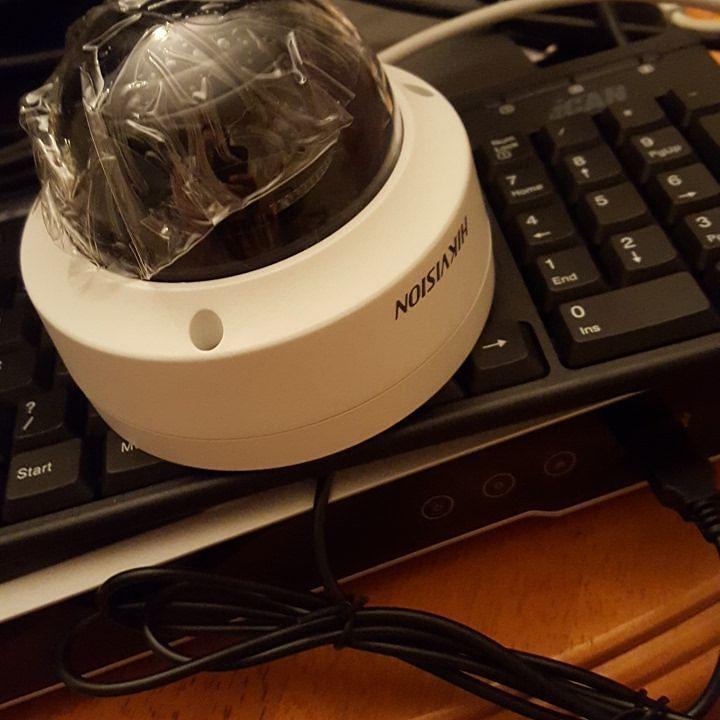 paramètres caméra Hikvision