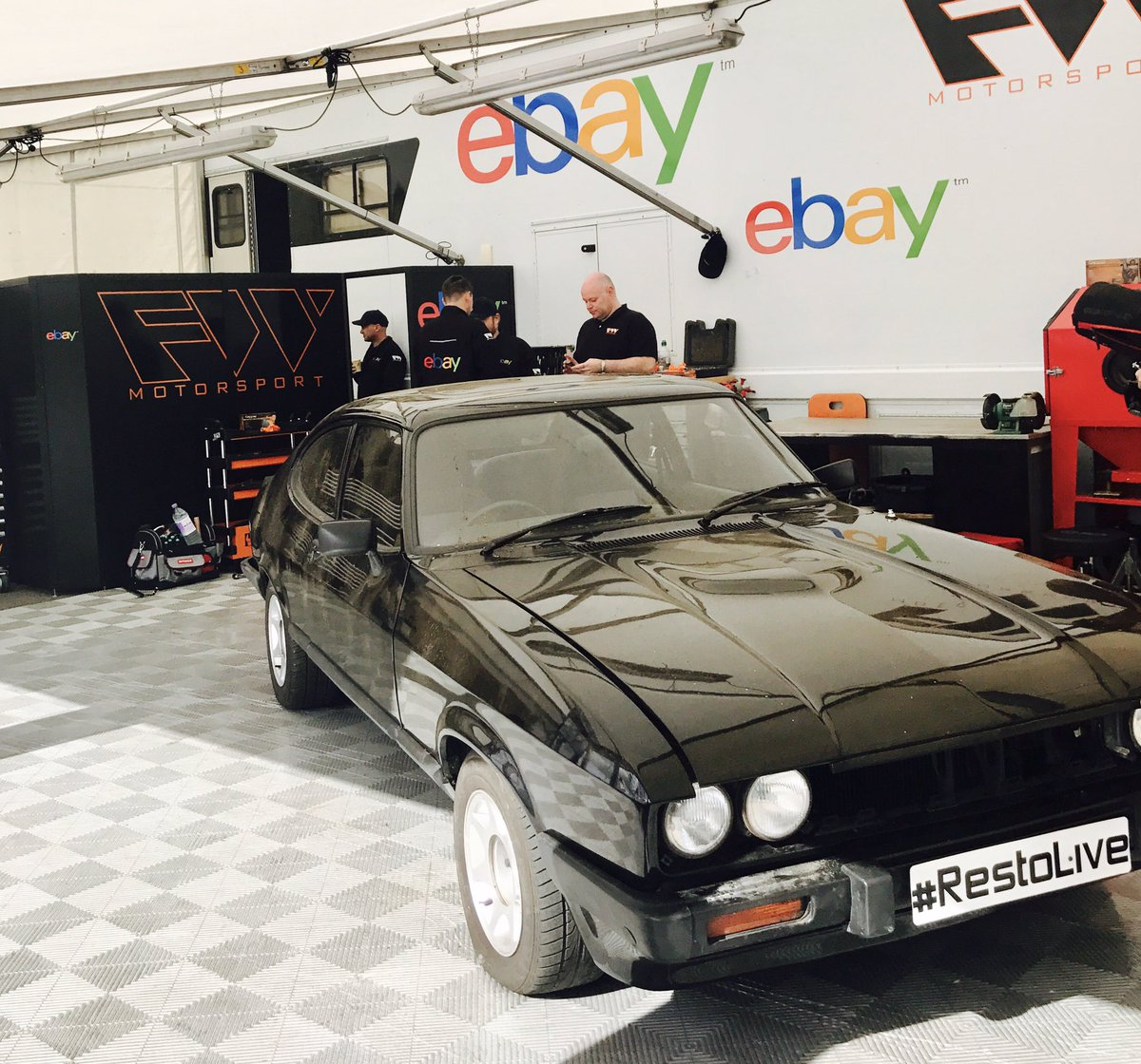 Ebay Co Uk On Twitter Restore This Ford Capri In 3 Days With All Parts And Accessories Bought On Ebay Challenge Accepted Silverstoneclassic Ebayatsilverstone Https T Co Excohltu9r