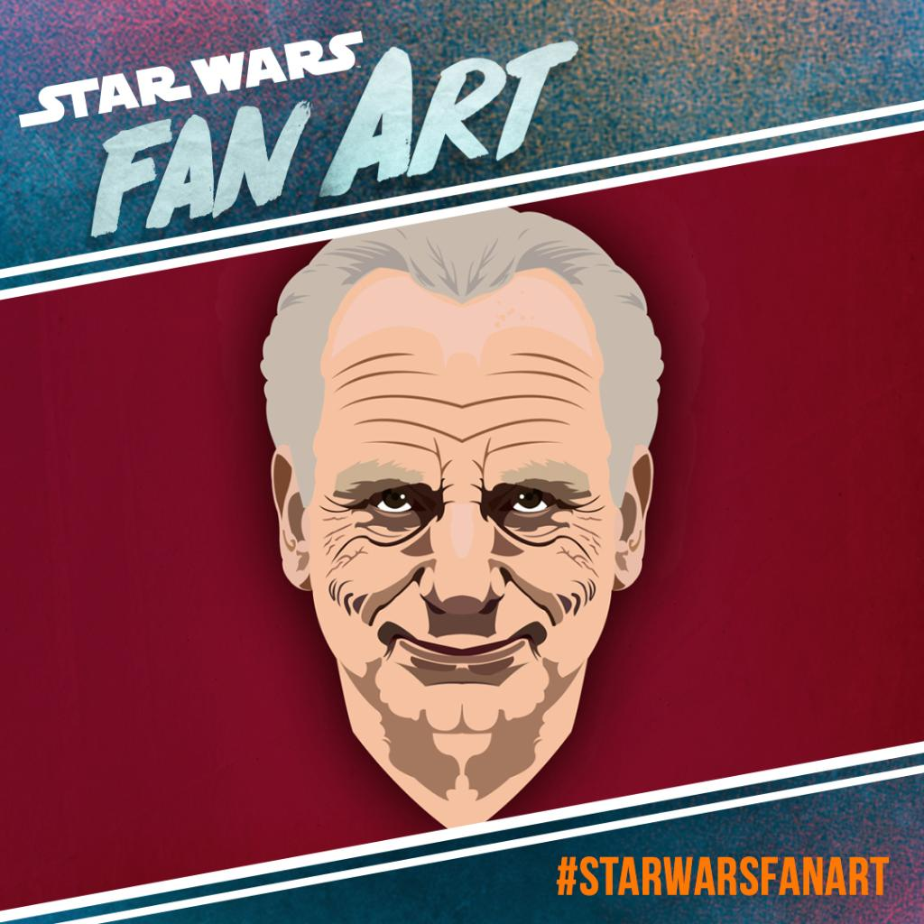 The face(s) of Palpatine. #StarWarsFanArt by @wookieebusiness. https://t.co/DrLiFen0kg