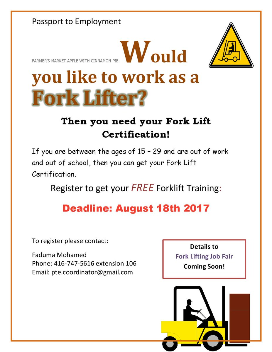 Peach Youth On Twitter Would You Like To Work As A Fork Lifter