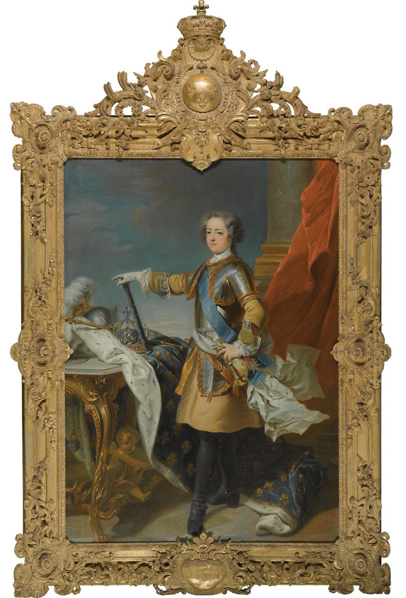 Jean-Baptiste van #Loo - PORTRAIT OF LOUIS XV, KING OF FRANCE (1710-1774) sotheby´s 08.07.2009 #fineart #peinture <br>http://pic.twitter.com/SisLFapght