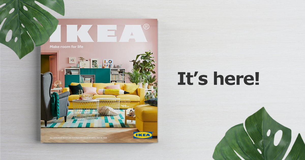 Ikea Canada On Twitter Ps Btw Fyi The New Ikea Catalogue Is Here