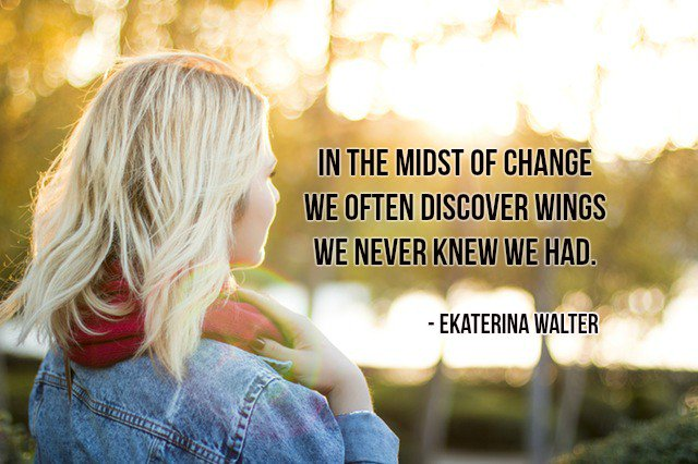 In the midst of #change we often discover wings we never knew we had. -  Ekaterina Walter @gary_hensel  #quote<br>http://pic.twitter.com/h6RYHUXnwz