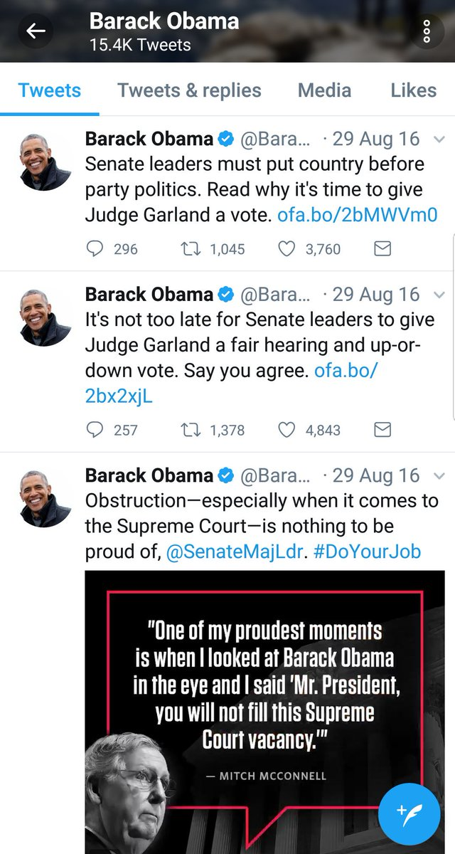 Kept looking for childish, angry tweets from OUR POTUS Obama.  Nope.  Nothing but Presidential in the face of obstruction. #FlashbackFriday <br>http://pic.twitter.com/33Xiv7AsQD