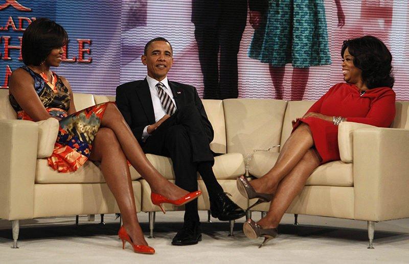 Newsweek: Trump women wear high heels! That's horrible!