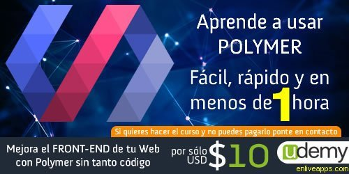 http:// bit.ly/udemy_polymer  &nbsp;   #cupon #udemy #descuento #polymer #html5 #curso - August 11, 2017 at 02:45PM<br>http://pic.twitter.com/3ZdlgGgBFG