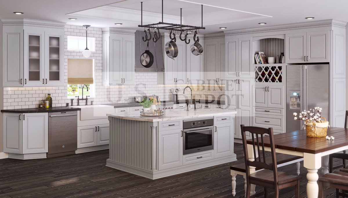 Us cabinet depot on twitter introducing tahoe dove its a perfect combo of our popular dove grey paint and the transitional tahoe profile