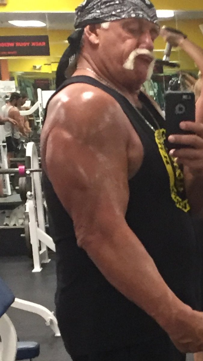 Still jacked at 64yrs young brother. HH https://t.co/N8MBItuBba