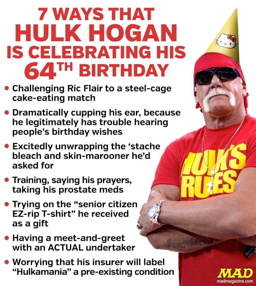 Happy Birthday Hulk Hogan