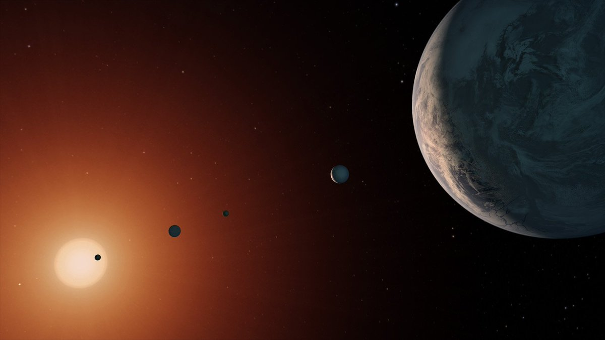 New discovery! The #TRAPPIST1 system of 7 Earth-size planets is way older than Earth. What does that mean for life? https://t.co/0W4BJTyhID